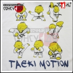 Футболка с рисунком Taeki Motion